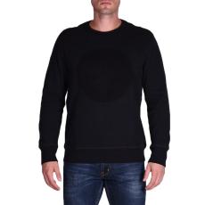 Converse Embossed Graphic Crew férfi pulóver fekete L