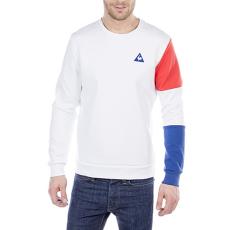 Le Coq Sportif Tri Sp Bbr Cotton Tech Crew Sweat férfi kapucnis pulóver fehér XL