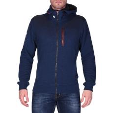 Helly Hansen Crew Fz Hoodie férfi kapucnis cipzáras pulóver kék S