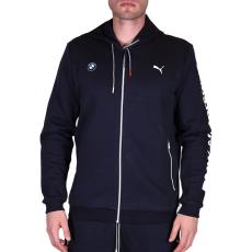 Puma Bmw Msp Hooded Sweat férfi kapucnis cipzáras pulóver sötétkék L