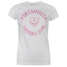 Team Pompey Graphic női póló fehér XL