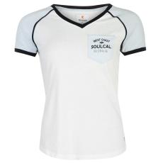 SoulCal Deluxe Pocket női póló kék S