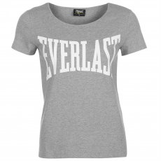 Everlast Large Logo női kerek nyakú póló szürke M