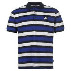 Lonsdale Férfi galléros póló kék M