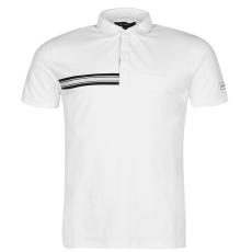 Kangol Taped férfi galléros póló fehér S