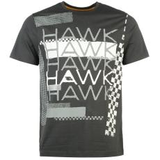 Tony Hawk Graphic férfi póló sötétszürke L