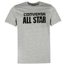 Converse Heritage férfi póló szürke XS