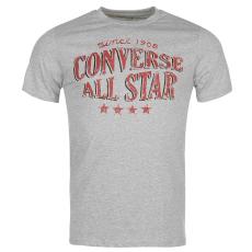 Converse Four Star férfi póló szürke L
