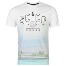 SoulCal Deluxe Poolside férfi póló fehér L