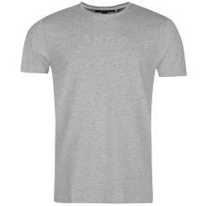 Kangol Linear Logo férfi póló szürke S