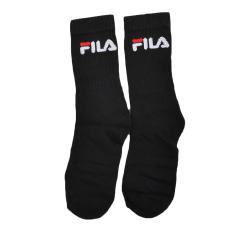 Fila Zokni Fila - 1 Pár férfi magas szárú zokni fekete S