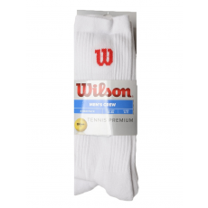 Wilson Tennis Premium Crew férfi bokazokni fehér