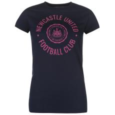 NUFC Graphic női póló tengerészkék S