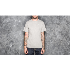 Kappa Basic Cafers Tee Medium Grey Melange