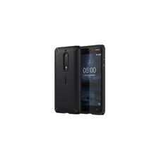 Nokia 5 gyári ütésálló hátlap tok, fekete, CC-502 tok és táska