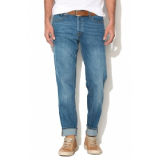 Jack Jones Jack&Jones, Mike Comfort Fit Farmernadrág, Kék, W28-L32 (12123968-BLUE-DENIM-W28-L32)