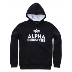 Alpha Industries Foam Print Hoody - fekete/fehér
