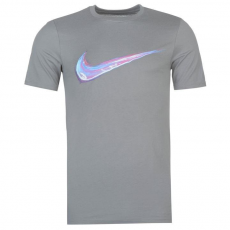 Nike Streak Swoosh QTT férfi póló szürke M