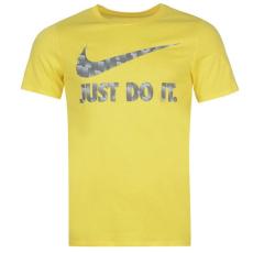 Nike JDI Swoosh QTT férfi póló sárga L