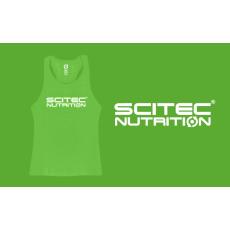 Scitec Nutrition SCITEC RACERBACK GREEN GIRL TANK TOP