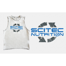 Scitec Nutrition SCITEC SLEEVELESS T-SHIRT fehér