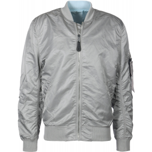 Alpha Industries MA-1 VF LW REVERSIBLE - silver