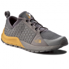 The North Face Bakancs THE NORTH FACE - Mountain Sneaker T932ZUZFR Amoked Pearl Grey/Arrowwood Yellow