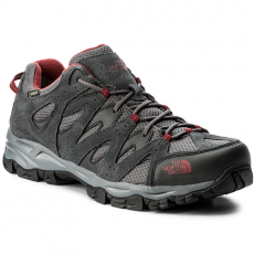 The North Face Bakancs THE NORTH FACE - Storm Hike Gtx (EU) GORE-TEX T932ZSTCP Dark Shadow Grey/Rudy Red