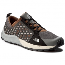 The North Face Bakancs THE NORTH FACE - Mountain Sneaker T932ZUYUN Graphite Grey/Tagumi Brown