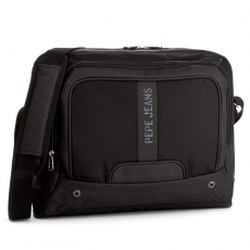 Pepe Jeans Laptoptáska PEPE JEANS - Greenwich Laptop Satchel PM120011 Black 999