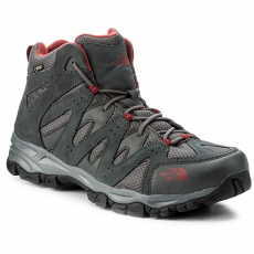 The North Face Bakancs THE NORTH FACE - Storm Hike Mid Gtx (Eu) GORE-TEX T939VYTCP Dark Shadow Grey/Rudy Red