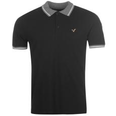VOI Tour férfi galléros póló fekete M