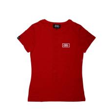 Dorko Drk Circle T-shirt Women Red női póló piros M