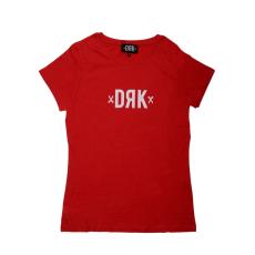 Dorko Drk Logo T-shirt Women Red női póló piros S