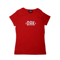 Dorko Drk Logo T-shirt Women Red női póló piros M