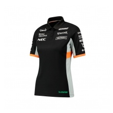 Force India női galléros póló Sahara F1 Team 2017 - XXS