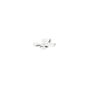 Leitz Gyorsfûzõ, laminált karton, lakkfényû, A4, LEITZ Wow, fehér
