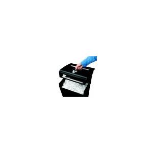 FELLOWES Iratmegsemmisítõ, konfetti, 8 lap, FELLOWES Powershred(R) P-48C, fekete