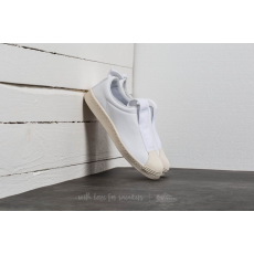 Adidas adidas Superstar Brand With 3 Stripes Slip On Ftw White/ Ftw White/ Off White