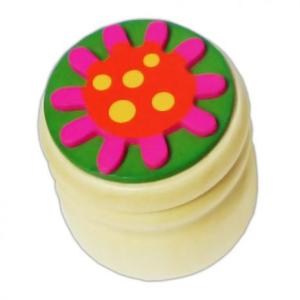 Tejfogtartó (virágos)