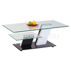 HAL-Savana üveg dohányzóasztal