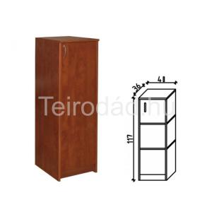 Ravenna 15 jobbos ajtós polcos irodaszekrény