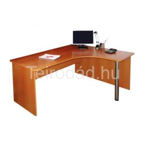 Grafik L-alakú sarok számítógépasztal (balos)