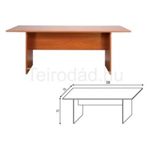 Malibu 23 tárgyalóasztal 200/ 75 cm
