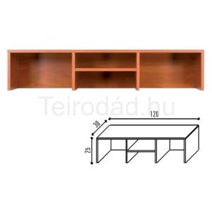 Malibu 35 pultelem íróasztalhoz (120 cm)