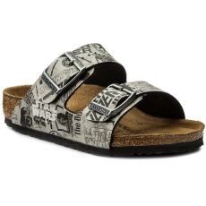 Birkenstock Papucs BIRKENSTOCK - Arizona Kids 513953 Star Wars Used Gray