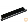 Excel-Networking Excel Cat.6 FTP 24 portos patchpanel, 1U, fekete 100-013
