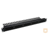 Excel-Networking Excel ISDN 50 portos telefon panel, fekete, 1U 100-464