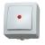 egyéb Kopp nyomógombos villanykapcsoló, jelzőfénnyel