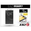 Eazyguard Sony Xperia XA1 Ultra (G3221/G3223) gyémántüveg képernyővédő fólia - Diamond Glass 2.5D Fullcover - fehér